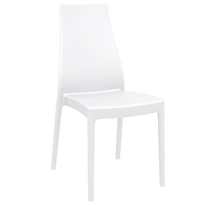 chaise de jardin en polypropyl ne miranda 4. Black Bedroom Furniture Sets. Home Design Ideas