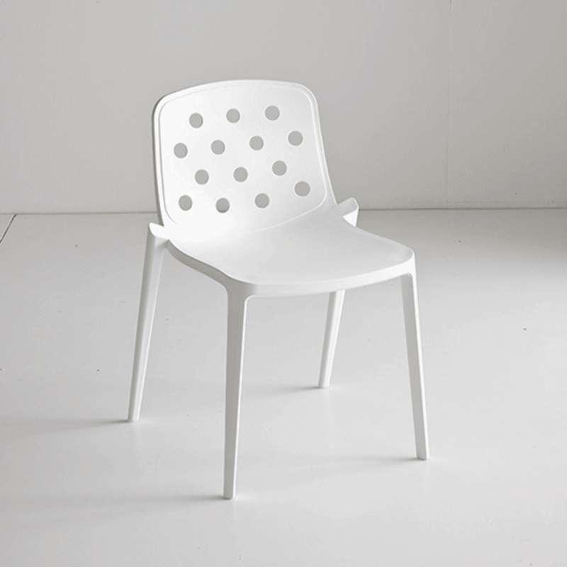 chaise d 39 ext rieur moderne en technopolym re isidora 4 pieds tables chaises et tabourets. Black Bedroom Furniture Sets. Home Design Ideas