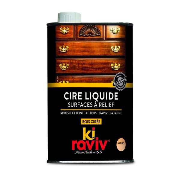 Entretien cire liquide surfaces a reliefs kiraviv
