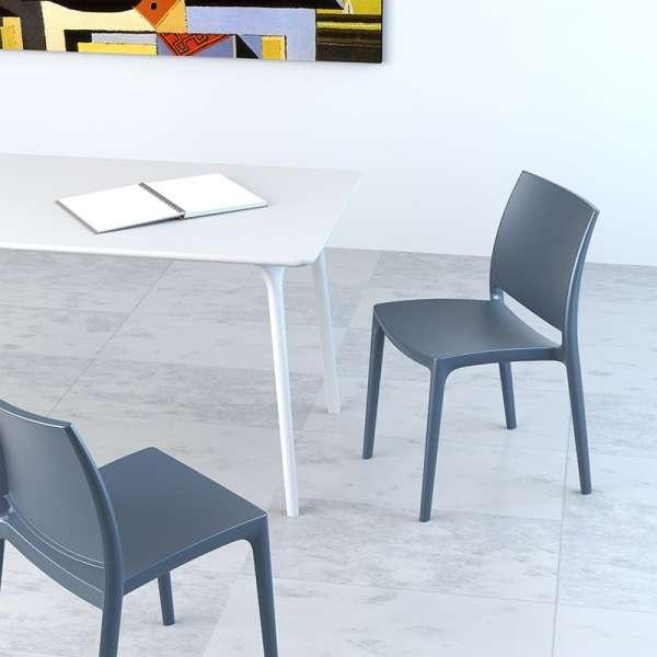 Chaise d'intérieur en plastique - Maya - 5
