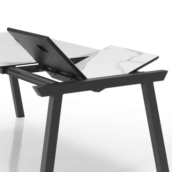 Table moderne avec allonge en céramique - Benidorm - 6