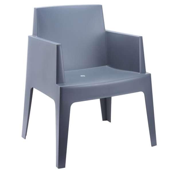Fauteuil moderne en polypropyl¨ne Box 4 Pieds tables
