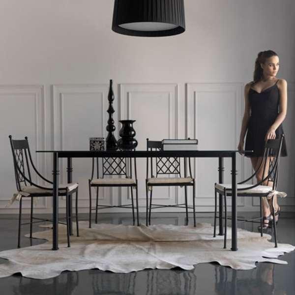 Chaise provençale en métal - Marsella