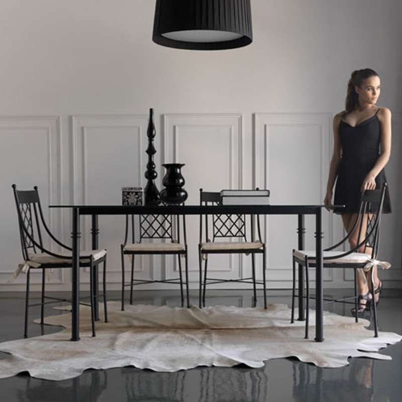 chaise proven ale en m tal marsella 4. Black Bedroom Furniture Sets. Home Design Ideas