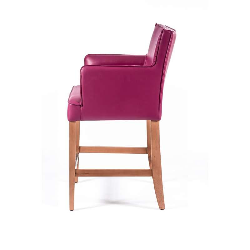 tabouret snack avec accoudoirs bardiem 4 pieds. Black Bedroom Furniture Sets. Home Design Ideas