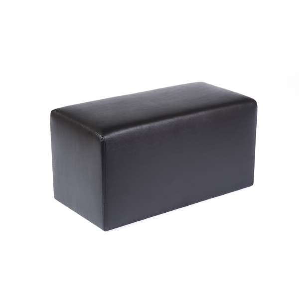 Pouf rectangulaire contemporain marron - Max Q78 - 9