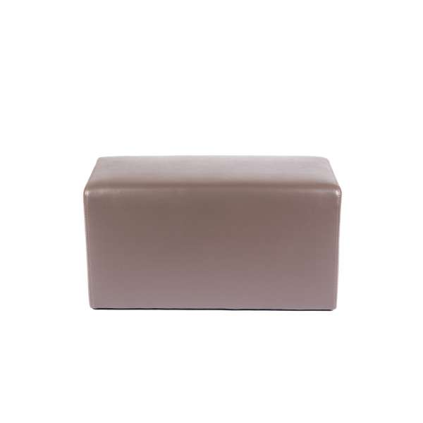 Pouf rectangulaire marron - Max Q78 - 16