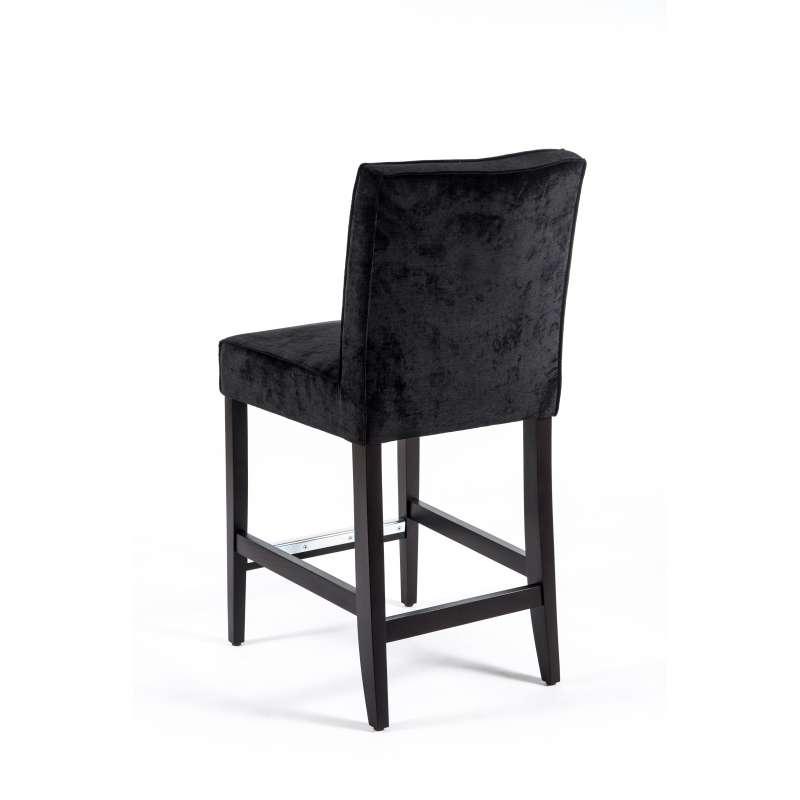 tabouret snack en tissu et bois barcarpe 4 pieds. Black Bedroom Furniture Sets. Home Design Ideas