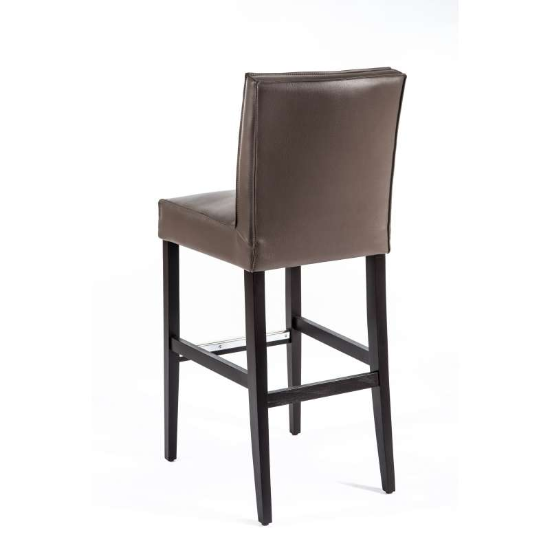 tabouret de bar en synth tique et bois barcarpe 4 pieds tables chaises et tabourets. Black Bedroom Furniture Sets. Home Design Ideas