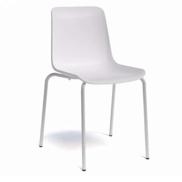 Chaise en polypropylène et métal - Paris - 2
