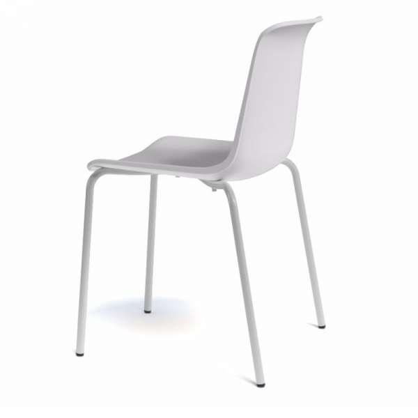 Chaise en polypropylène et métal - Paris 2 - 3