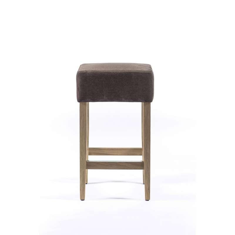 tabouret snack en tissu et bois barmax 4 pieds. Black Bedroom Furniture Sets. Home Design Ideas
