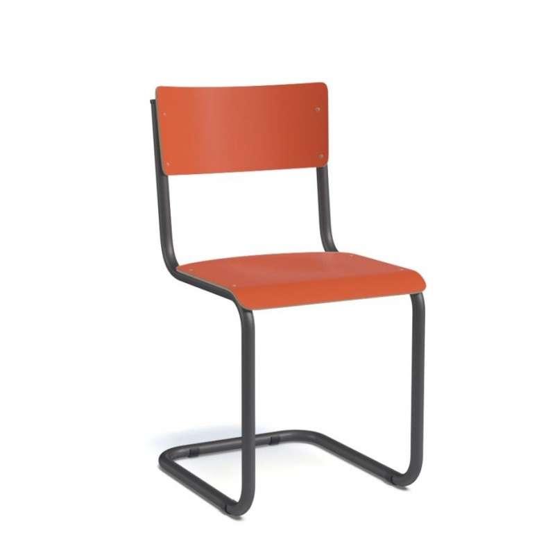 chaise r tro style colier avec pieds en luge vintage 4. Black Bedroom Furniture Sets. Home Design Ideas