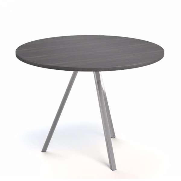 Table ronde moderne en stratifié - Triple 3 - 3