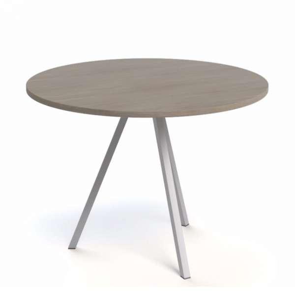 Table ronde moderne en stratifié - Triple 4  - 4