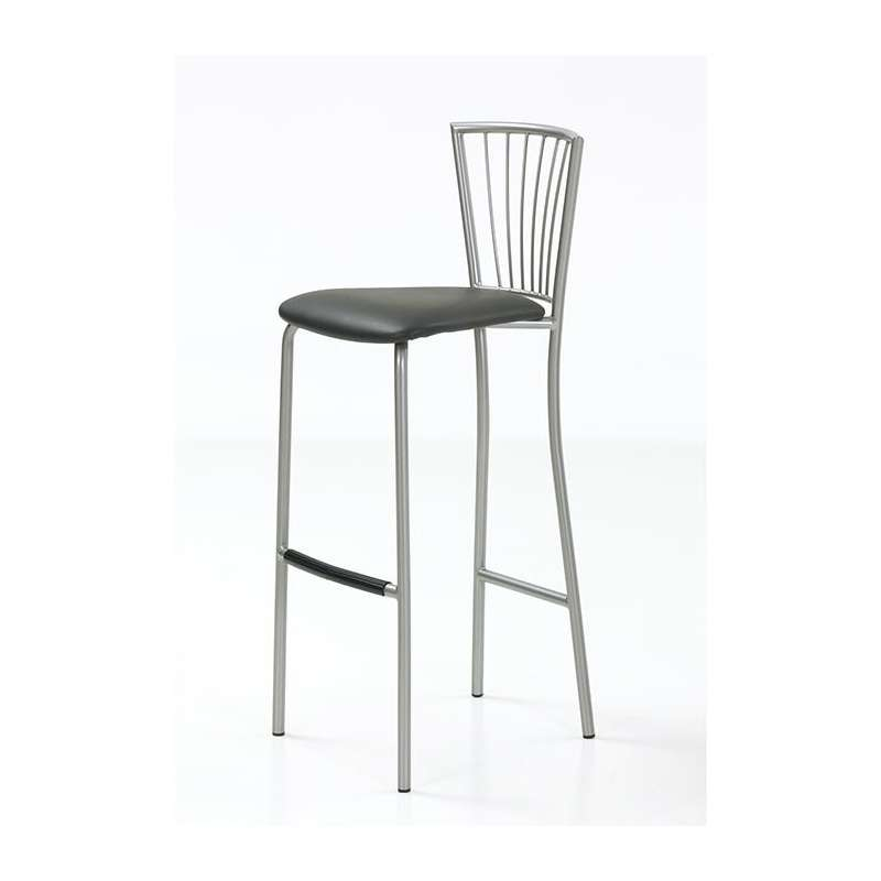 tabouret de bar en synth tique et m tal jana 4 pieds tables chaises et tabourets. Black Bedroom Furniture Sets. Home Design Ideas