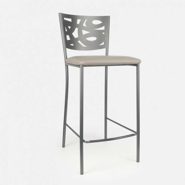tabouret snack contemporain en synth tique et m tal claudie 4. Black Bedroom Furniture Sets. Home Design Ideas
