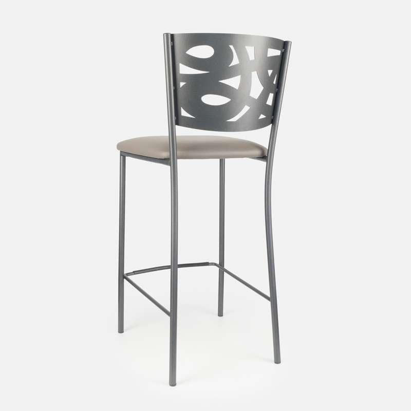 tabouret snack contemporain en synth tique et m tal. Black Bedroom Furniture Sets. Home Design Ideas