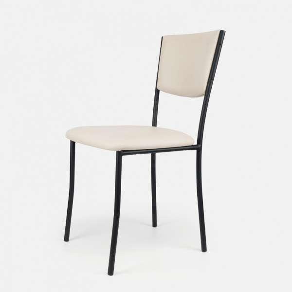 Chaise de cuisine en métal et vinyl - Ruby 12 - 13