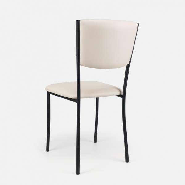 Chaise de cuisine en métal et vinyl - Ruby 10 - 11