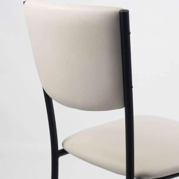 Chaise de cuisine en métal et vinyl - Ruby 15 - 16