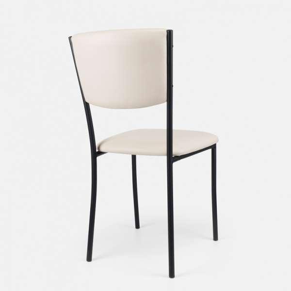 Chaise de cuisine en métal et vinyl - Ruby 7 - 8