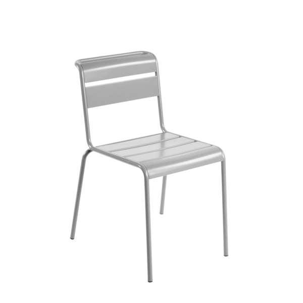 Chaise de jardin rétro en métal - Lutetia