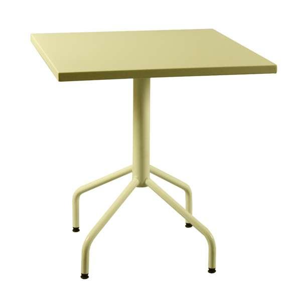 Table de jardin pliante en métal - Riviera 4 20 - 21