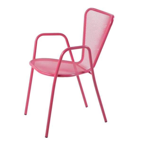 fauteuil de jardin design en m tal sunset 4 pieds. Black Bedroom Furniture Sets. Home Design Ideas