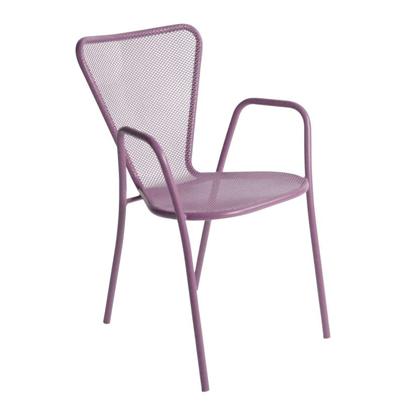 fauteuil de jardin design en m tal sunset 4. Black Bedroom Furniture Sets. Home Design Ideas