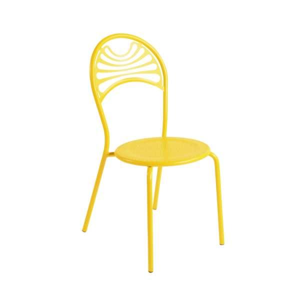Chaise de jardin contemporaine en métal - Cabaret 14 - 14