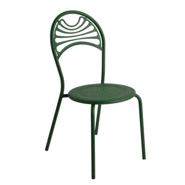 Chaise de jardin contemporaine en métal - Cabaret 19 - 19