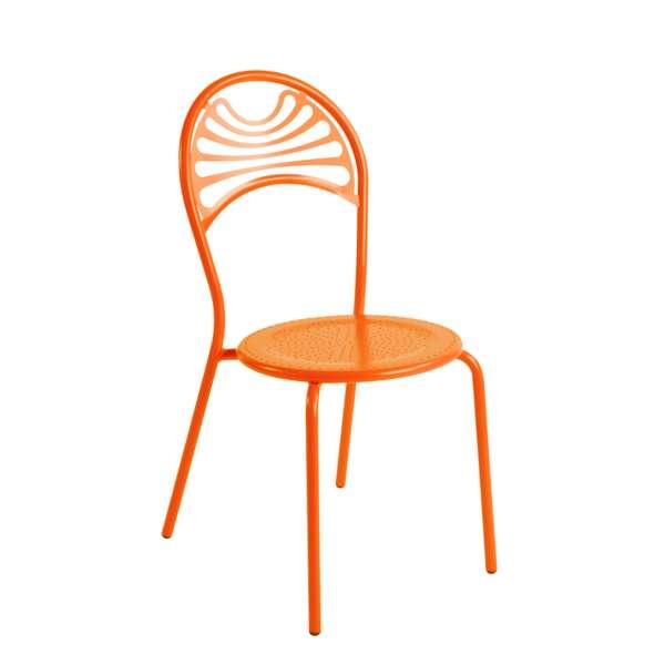 Chaise de jardin contemporaine en métal - Cabaret 7 - 7