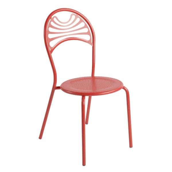 Chaise de jardin contemporaine en métal - Cabaret 21 - 21