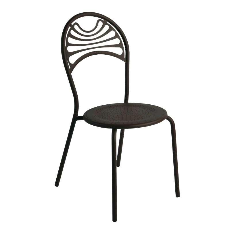 chaise de jardin contemporaine en m tal cabaret 4. Black Bedroom Furniture Sets. Home Design Ideas