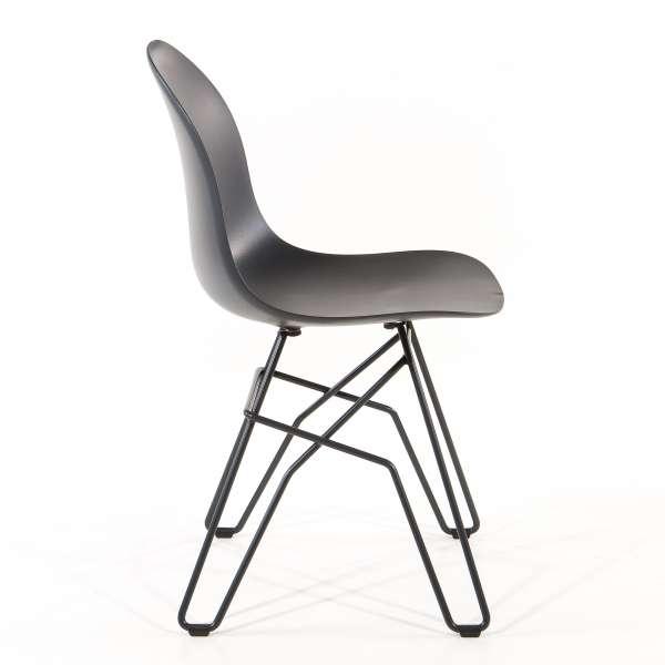 Chaise design en polypropylène et métal - 1664 Academy Connubia 4 - 4