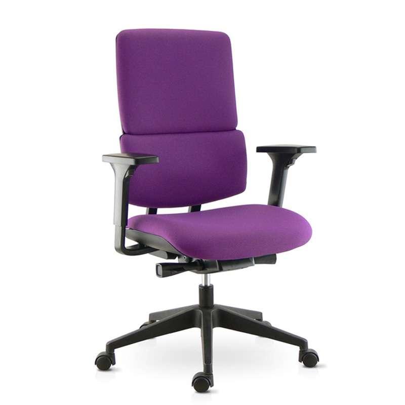 chaise de bureau en tissu avec roulettes wi max 4 pieds tables chaises et tabourets. Black Bedroom Furniture Sets. Home Design Ideas