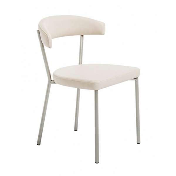Chaise de cuisine en métal et synthétique - Elli 6 - 6