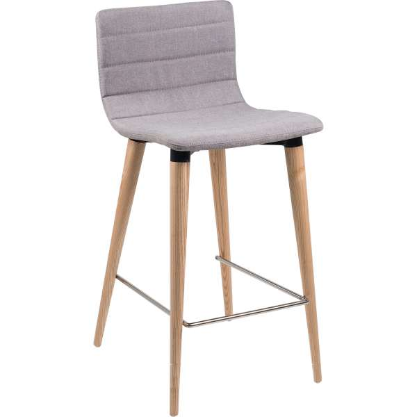Tabouret de bar scandinave great chaise bar pied bois for Chaise scandinave fly