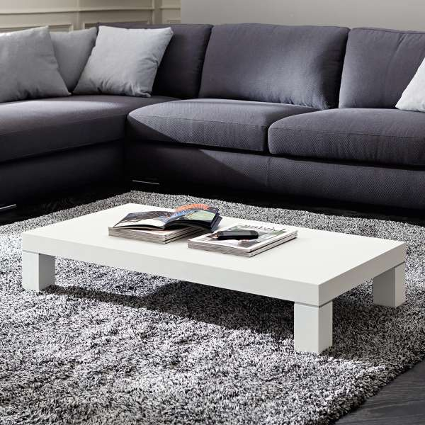 Table basse contemporaine rectangulaire - Anna