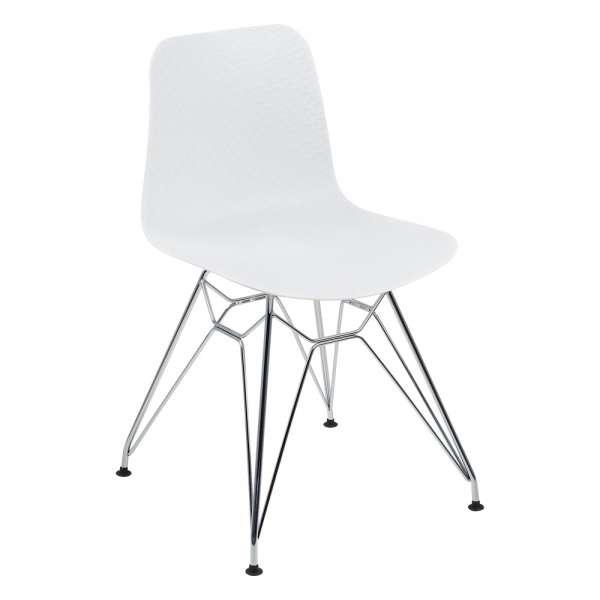 chaise design en polypropyl ne et m tal c leste 4. Black Bedroom Furniture Sets. Home Design Ideas
