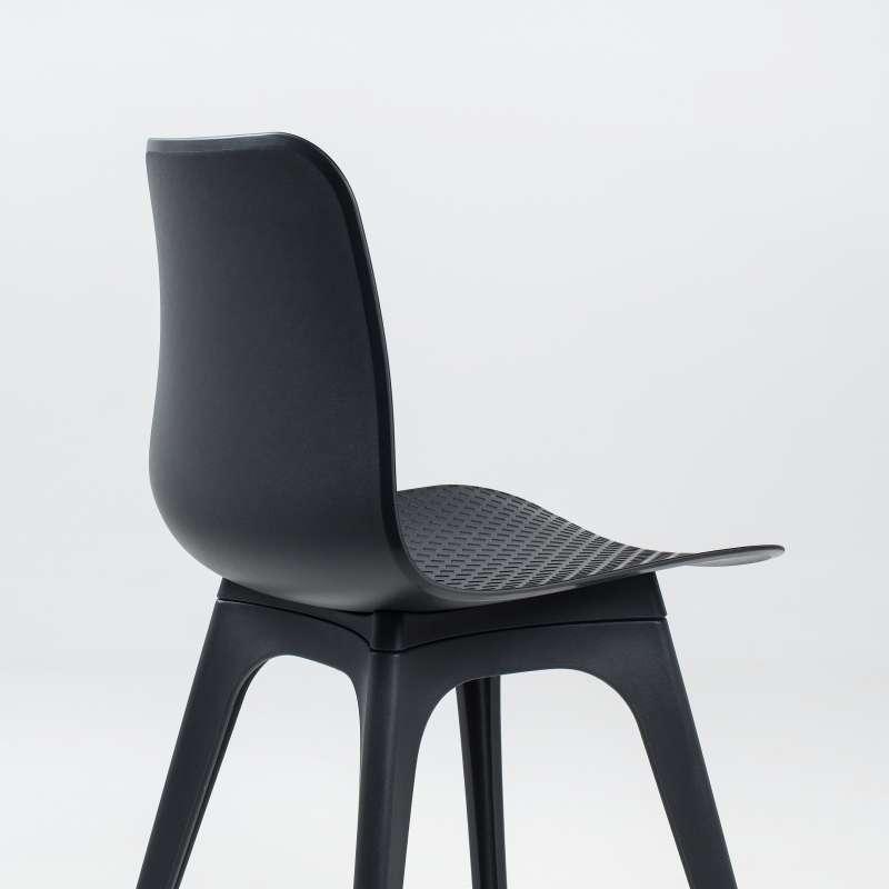 chaise design en polypropyl ne c leste 4 pieds tables chaises et tabourets. Black Bedroom Furniture Sets. Home Design Ideas