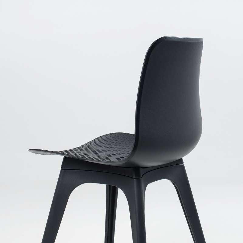 chaise design en polypropyl ne c leste 4. Black Bedroom Furniture Sets. Home Design Ideas