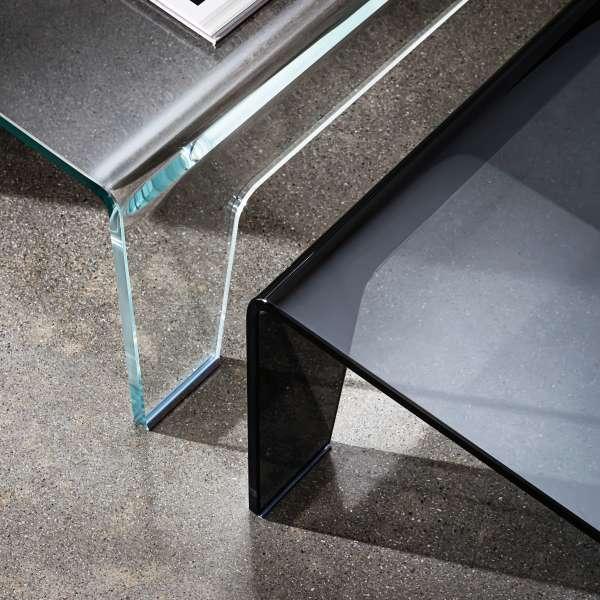 Table basse design rectangulaire en verre - Frog Sovet® 4 - 4