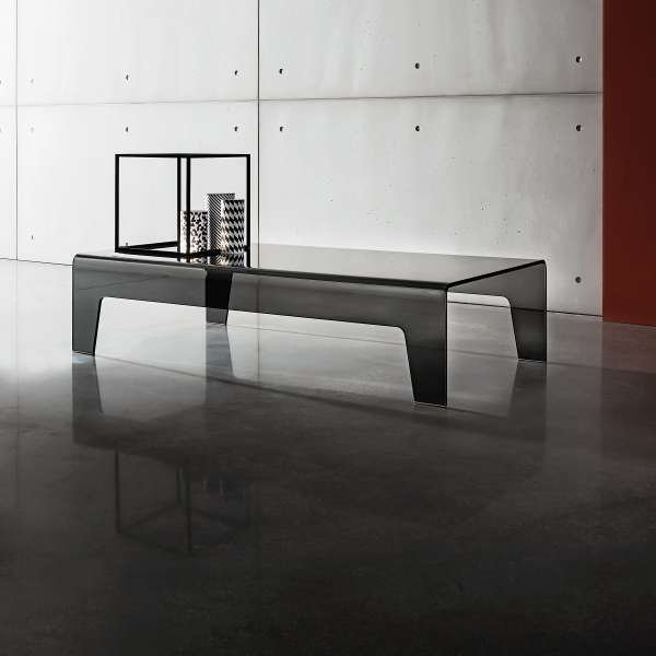 table basse design rectangulaire en verre frog sovet 4. Black Bedroom Furniture Sets. Home Design Ideas