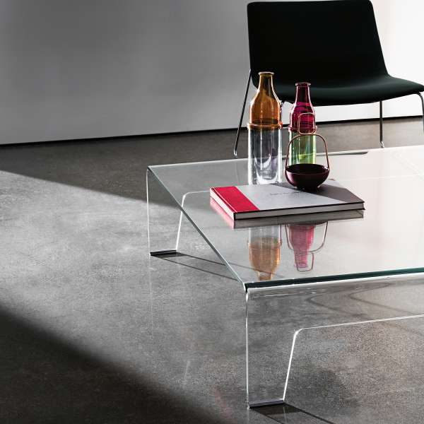 Table basse design rectangulaire en verre - Frog Sovet® 2 - 2
