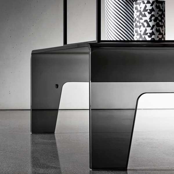 Table basse design rectangulaire en verre - Frog Sovet® 3 - 3