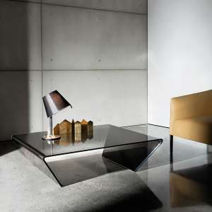 Table basse design en verre -  Rubino Sovet® 7