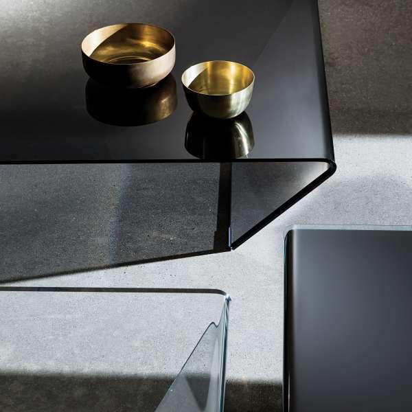Table basse design en verre -  Rubino Sovet® 10 - 6