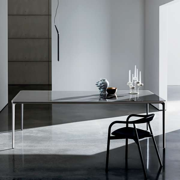 Table en verre design extensible - Slim Sovet®